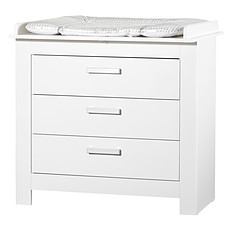 Achat Commode Commode avec Plan à Langer - Collection Marlene - Blanc
