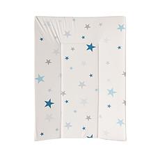 Achat Matelas et housse à langer Matelas à Langer Luxe - 55 x 75 cm - Etoiles Bleues