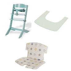 Achat Chaise haute Chaise Haute Syt Tablette et Coussin de Chaise - Menthe à l'eau