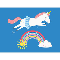 Achat Anniversaire & Fete Carte de Voeux Unicorn