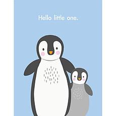 Achat Anniversaire & Fête Carte de Naissance Pingouin Hello Little One
