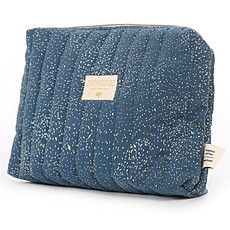 Achat Trousse Trousse de Toilette - Gold Bubble Night Blue
