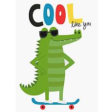 Achat Anniversaire & Fête Carte de Voeux Cool Crocodile