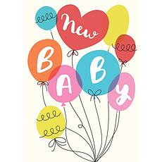 Achat Anniversaire & Fête Carte de Naissance Party Balloons
