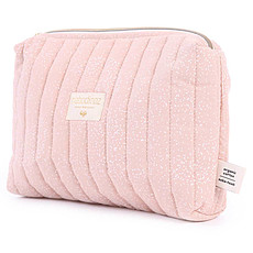 Achat Trousse Trousse de Toilette Travel - White Bubble & Misty Pink