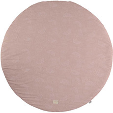 Achat Tapis Tapis Rond Full Moon - White Bubble Misty Pink