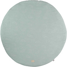 Achat Tapis Tapis Rond Full Moon - White Bubble Aqua
