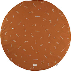 Achat Tapis Tapis Rond Full Moon - Gold Secrets Sunset