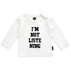 Achat Haut bébé T-shirt I'm not listening