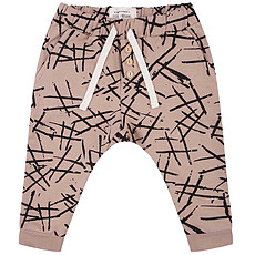 Achat Bas Bébé Pantalon Hashtag - Warm Taupe