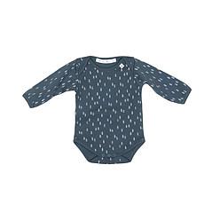 Achat Body et Pyjama Body Manche Longue Cecil - Metalic Blue - 6 Mois