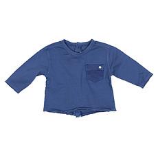 Achat Hauts bébé Collection Provence - Tee Shirt Manche Longue Clement - Prince Blue