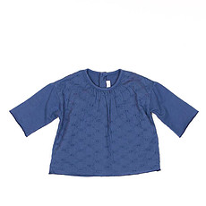 Achat Vêtement layette Collection Provence - Tee Shirt Manche Longue Chantal - Prince Blue