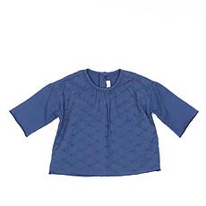 Achat Hauts bébé Collection Provence - Tee Shirt Manche Longue Chantal - Prince Blue