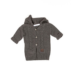 Achat Vêtement layette Collection New Born of New York - Gilet Decooning - Cinder