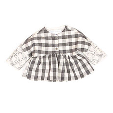 Achat Vêtement layette Collection New Born of New York - Blouse Elaine - Gris