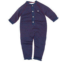 Achat Vêtement layette Collection Provence - Combinaison Irving - Prince Blue