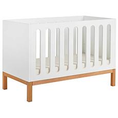 Achat Lit bébé Lit Bébé 120 x 60 cm - Indigo - Blanc