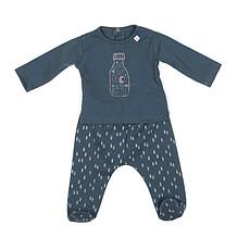 Achat Body et Pyjama Collection Inkpad Bottle - Pyjama Orlando - Metalic Blue