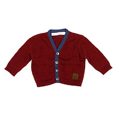 Achat Vêtement layette Collection Provence - Cardigan Renoir - Bordeaux