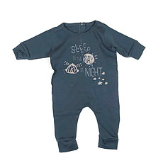 Achat Vêtement layette Collection Inkpad Bottle - Pyjama SimpleGifts - Metalic Blue