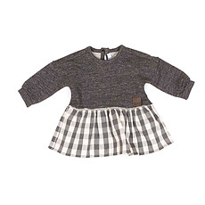 Achat Vêtement layette Collection New Born of New York - Robe Spring - Smoke