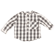 Achat Vêtement layette Collection New Born of New York - Blouse Willem - Check Grey