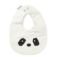 """Achat Bavoir Lot de 2 Bavoirs Henry """"Panda"""" - Solid Crème de la Crème"""