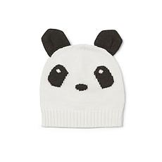 """Achat Accessoires Bébé Bonnet Viggo """"Panda"""" - Crème de la Crème - 3/4 ans"""