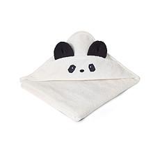 """Achat Linge & Sortie de bain Cape de Bain Augusta """"Panda"""" - Crème de la Crème"""