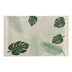 Achat Tapis Tapis Lavable Tropical - 140 x 200 cm - Beige / Vert
