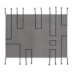 Achat Décoration Tapis Lavable Nordic Line Gris - 170 x 240 cm