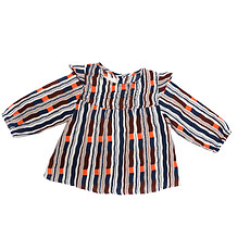 Achat Vêtement layette Blouse Louisa - Russian Stripes