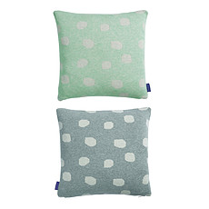 Achat Coussin Coussin Smilla - Menthe / Gris