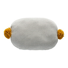Achat Coussin Coussin Bonbon - Light gris, Blanc, Bamboo