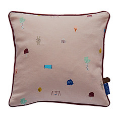 Achat Décoration Coussin Happy Summer - Rose