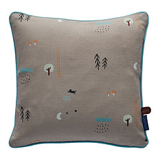 Achat Coussin Coussin Happy Forrest - Marron