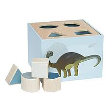 Achat Mes premiers jouets Cube à formes Dino - Bleu