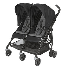 Achat Poussette multiple Poussette Double Dana For2 - Nomad Black