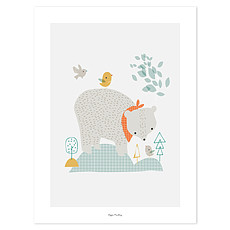 Achat Affiche & poster Woodland - Affiche Ours