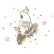 Achat Sticker Sticker Golden Parrot