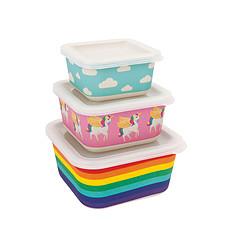 Achat Vaisselle & Couvert Set de 3 Boîtes Lunch - Wonderland