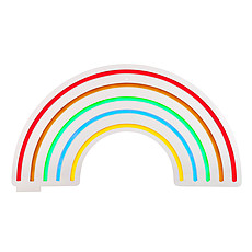 Achat Suspension  décorative Neon LED Wall Arc-en-Ciel - Taille S