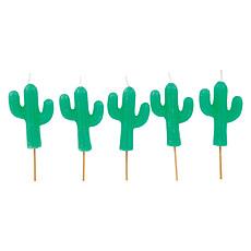 Achat Anniversaire & Fête Lot de 5 bougies cactus
