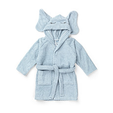"Achat Toilette Peignoir Lily ""Elephant"" - Solid Baby Blue"