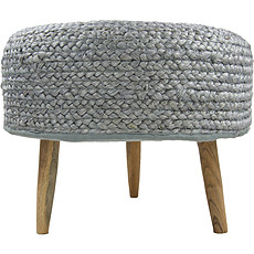 Achat Table & Chaise Tabouret Aslesha - Gris