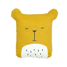 Achat Coussin Coussin Lazy Bear - Miel