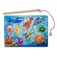 Achat Mes premiers jouets Jeu de Pêche Magnétique en Bois