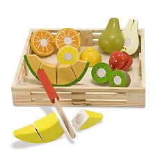 Achat Mes premiers jouets Fruits à Couper en Bois