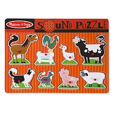 Achat Mes premiers jouets Puzzle Sonore Animaux de la Ferme